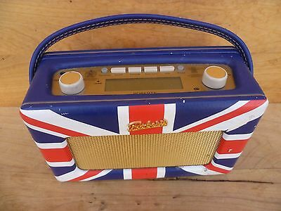 Vintage Style Union Jack, English Roberts Revival Radio, Old Radio (C770)