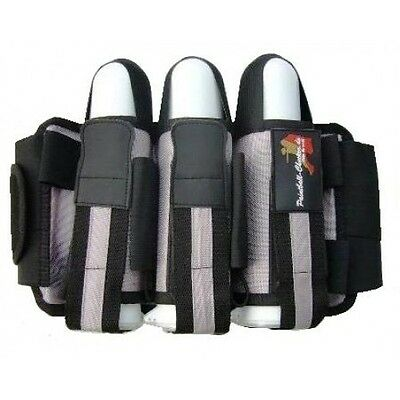 Battlepack Battle Pack 3+4 Grau Paintball Gotcha Woodland Harness Pod Pods