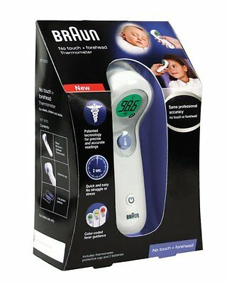 Braun NTF3000US Braun No Touch Plus Forehead Thermometer - New - Quick Shipping