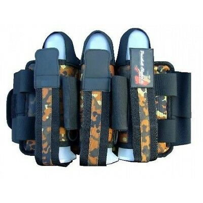 Battlepack Battle Pack 3+4 Flecktarn Paintball Gotcha Woodland Harness Pod Pods