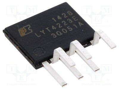 1 pc Driver; LED controller; 2.72A; Channels:1; 160÷300V; 18W; eSIP-7C