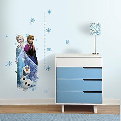 RoomMates RMK2793GC Elsa, Anna and Olaf Frozen Peel and Stick Giant Growth
