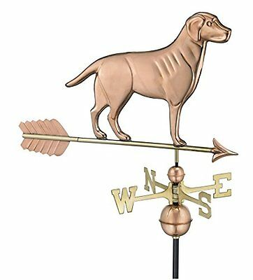 Good Directions 560PA Labrador Retriever Weathervane with Arrow, Polished C