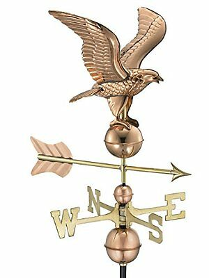 Good Directions 1776P American Eagle Weathervane, Polished Copper