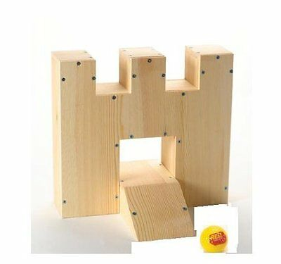 Red Tool Box Mini Golf Castle & Ramp Kit
