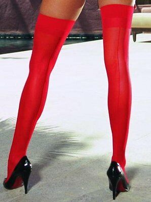 Moulin Red Thigh High