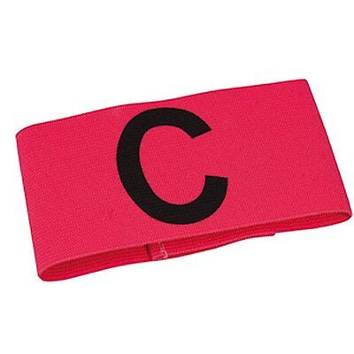 Select Junior/Senior Captain's Arm Band (Pink)