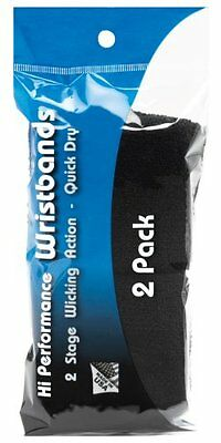 Unique Sports Hi Performance Wristbands (2 Pairs Per Pack, 4 wristbands), W