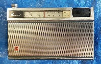 National Panasonic Transistor Radio (Short & Medium Wave) R-200