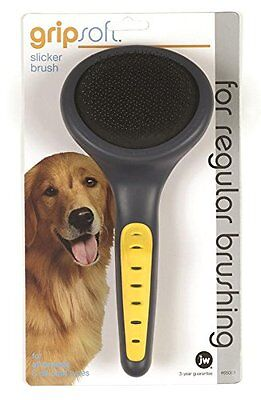 JW Pet Company GripSoft Slicker Brush Dog Brush