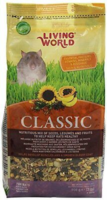 Living World Classic Rat Food, 2-Pound