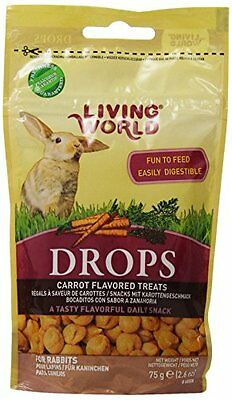 Living World Drops Rabbit Treat, 2.6-Ounce, Carrot