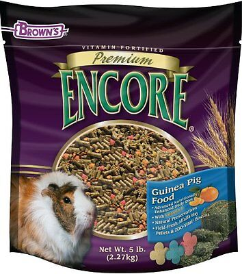 F.M. Brown's Encore Guinea Pig Food, 5-Pound