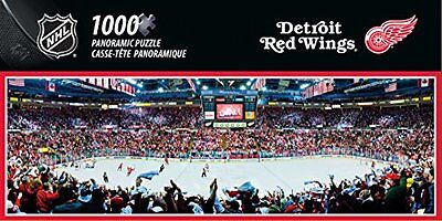 NHL Detroit Red Wings Arena Puzzle (1000-Piece), Small, Gray