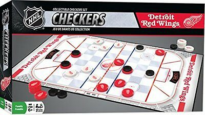 NHL Detroit Red Wings Checkers, Gray, Small