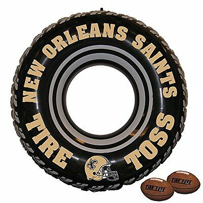 NFL New Orleans Saints Tire Toss Game