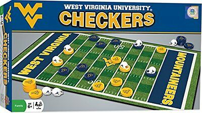 NCAA West Virginia Mountaineers Checkers, Gray, Small