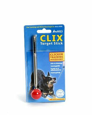 The Company of Animals Clix Target Stick, Silver