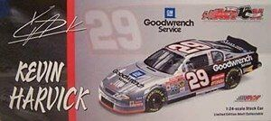 1/24 Scale Action Nascar #29 Kevin Harvick 2002 Monte Carlo GM Goodwrench S