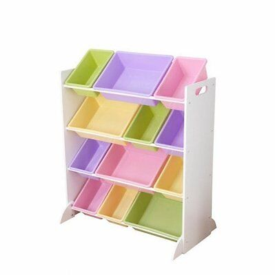 "KidKraft 15450, Contenitore ""Sort It and Store It"", Bianco"