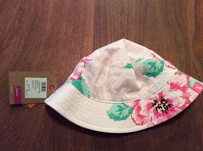 Joules Baby Girl Hat Size Small. BNWT
