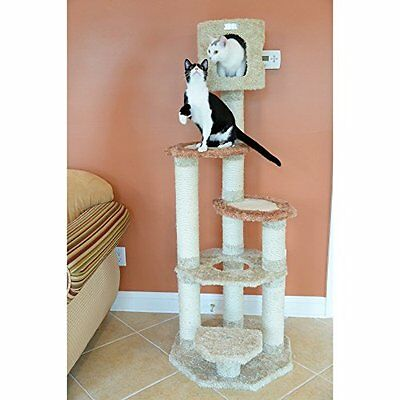 Armarkat Premium Cat Tree Model X6606, Khaki