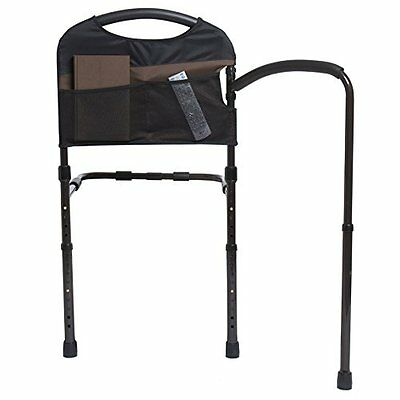 Stander Mobility Home Bed Rail & Cushioned Support Bed Handle - Swing Out M