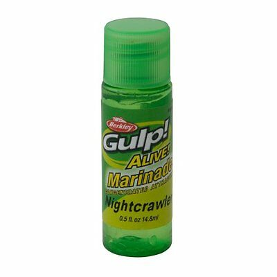 Gulp! Alive! Marinade Fishing Attractant, Nightcrawler