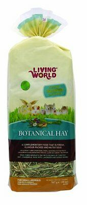 Living World Botanical Hay, 20-Ounce