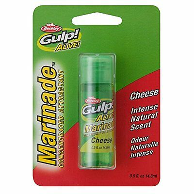 Gulp! Alive! Cheese Marinade Bait with Intense Attractant