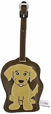 FouFou Dog Luggage Tag, Golden Retriever