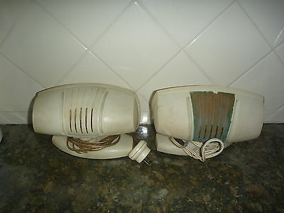 "VINTAGE 1953 BED LAMPS,  ""Lumeray"" brand shell style"