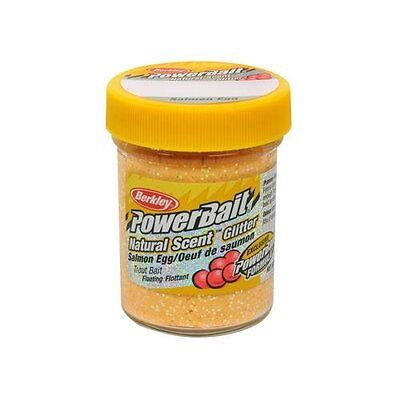 PowerBait FW Natural Salmon Egg Scent Glitter Trout Fishing Bait (Salmon Pe
