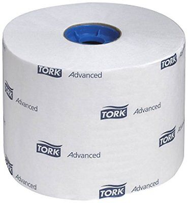 Tork 110291A Advanced High-Capacity Single-Ply Toilet Tissue Roll, White