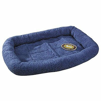 Slumber Pet Sherpa Dog Crate Bed, X-Small, Slate Blue