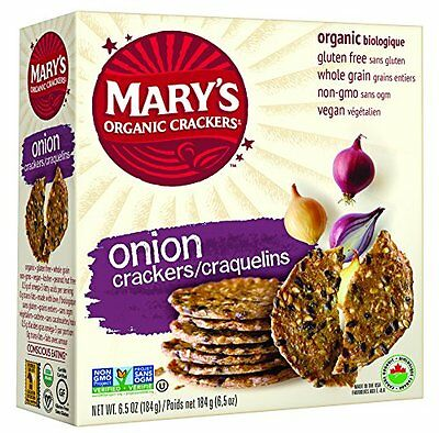 Mary'S Gone Crackers Organic Onion Crackers Gluten Free ( 12x6.5 OZ)