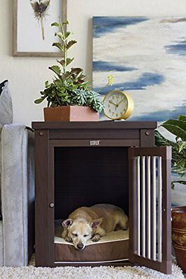 New Age Pet Habitat 'n Home InnPlace Pet Crate with Metal Spindles, Small,