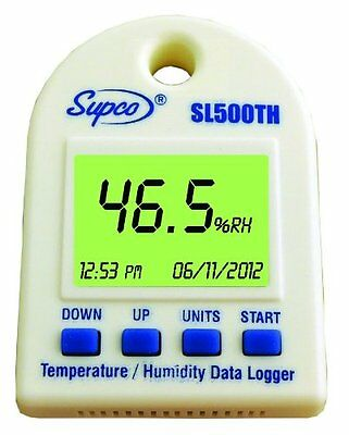 Supco SL500TH Temperature and Humidity Logger with Display