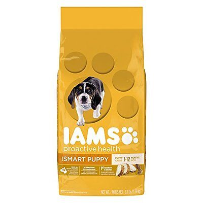 Iams Proactive Health Smart Puppy Original Premium Puppy Nutrition, 3.3 Pou