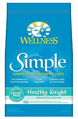 Wellness Simple Natural Grain Free Limited Ingredient Dry Dog Food, Healthy