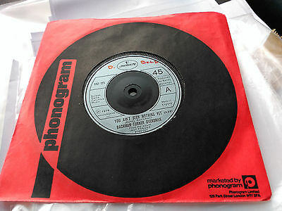 Single Bachman Turner Overdrive - You Ain't Seen Nothing Yet - Uk 1974 Vg+