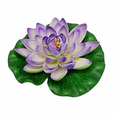 Jardin Aquarium Garden Pond Floating Lotus Decoration, Purple