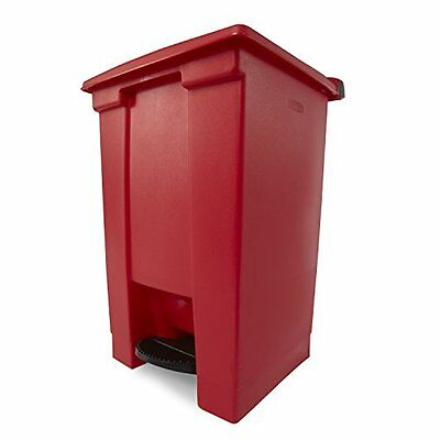 "Rubbermaid 6144 RED 12 gallon Capacity, 16-1/4"" Length x 15-3/4"" Width x 23"
