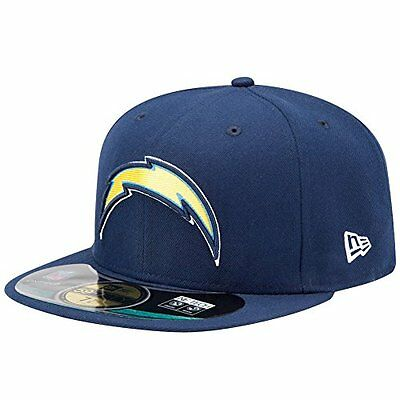 NFL San Diego Chargers On Field 5950 Game Cap, Navy, 7