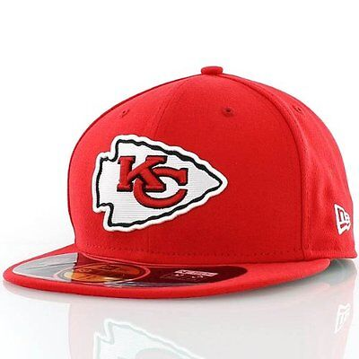 NFL Kansas City Chiefs On Field 5950 Game Cap, Red, 7