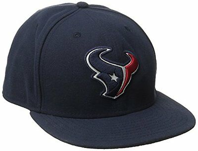 NFL Houston Texans On Field 5950 Game Cap, Navy, 7 1/8