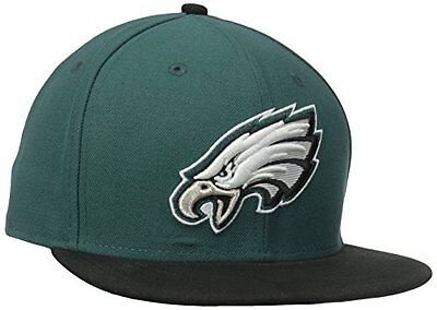 NFL Philadelphia Eagles On Field 5950 Game Cap, Midnight Green, 7