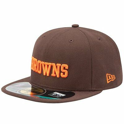 NFL Cleveland Browns On Field 5950 Game Cap, Brown, 7