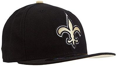 NFL New Orleans Saints On Field 5950 Game Cap, 6 7/8