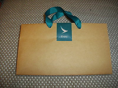 Cathay Pacific Mini Paper Bag - *New Livery* - RARE